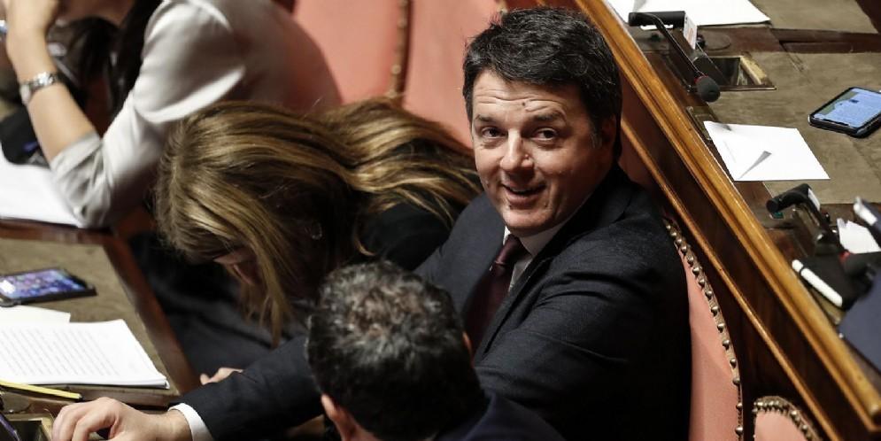 Il senatore PD, Matteo Renzi