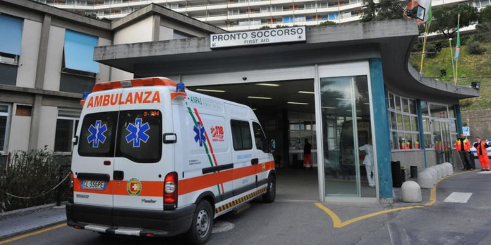 Pronto soccorso dell'ospedale San Martino a Genova