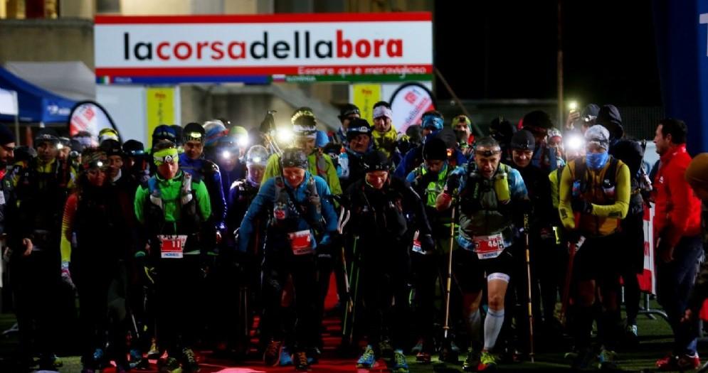 Corsa della Bora, partita questa mattina la S1 Ultra di 164 km