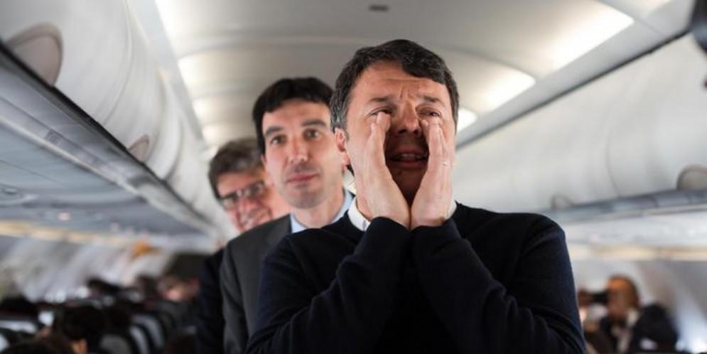 Matteo Renzi e Maurizio Martina