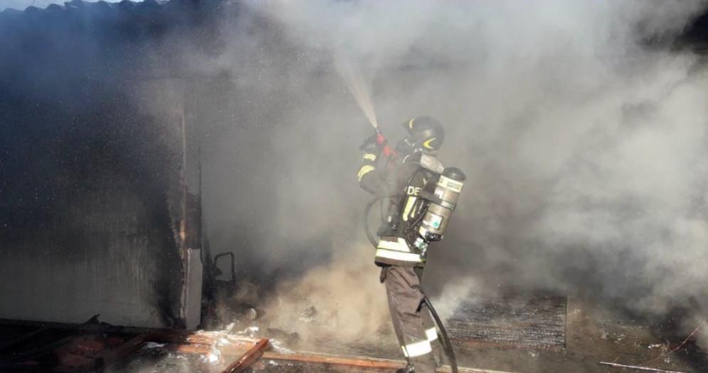 Doppio incendio a Remanzacco tra sabato e domenica