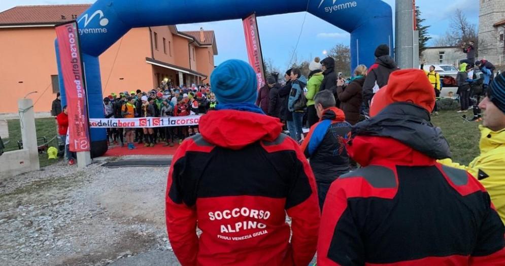 Corsa della Bora, due interventi del Soccorso Alpino