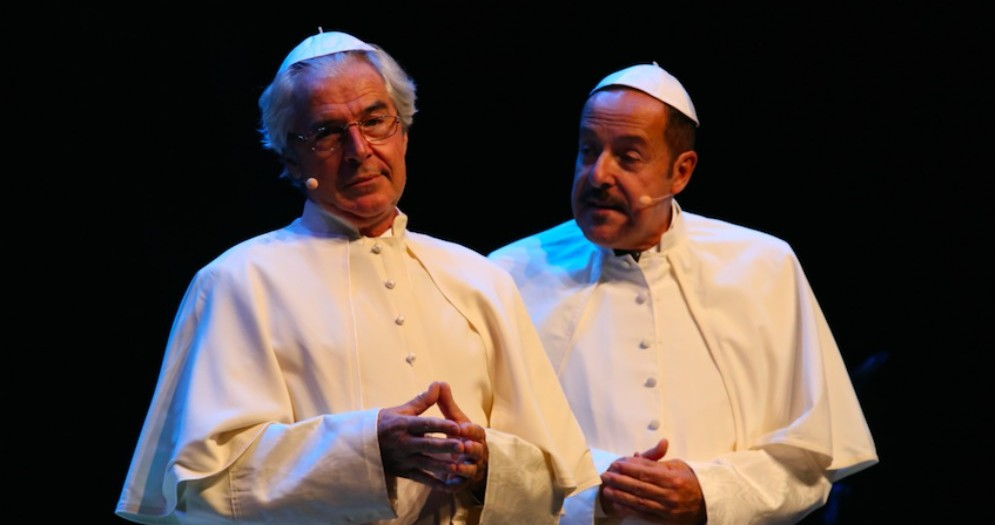Massimo Lopez e Tullio Solenghi di nuovo insieme sul palco del Verdi di Gorizia