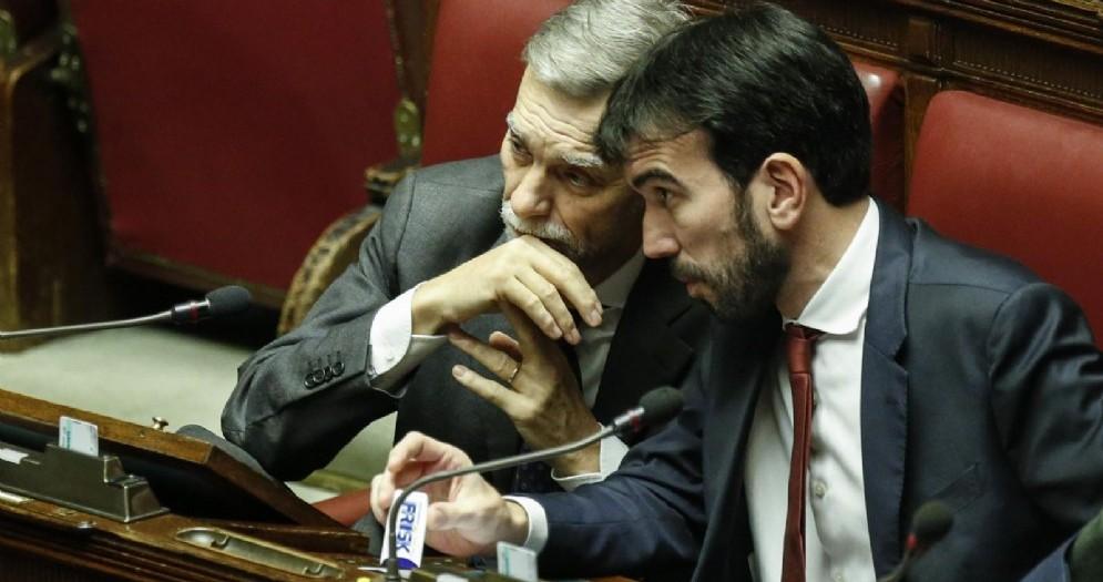 Il candidato alla segretaria Pd Maurizio Martina