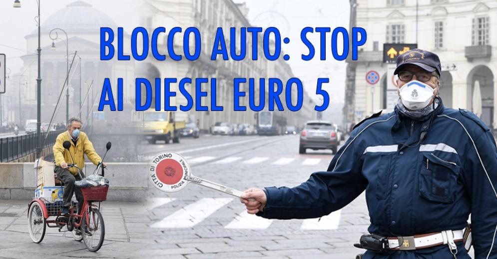 Incubo semaforo rosso, a Torino da martedì attivo il blocco dei Diesel Euro 5