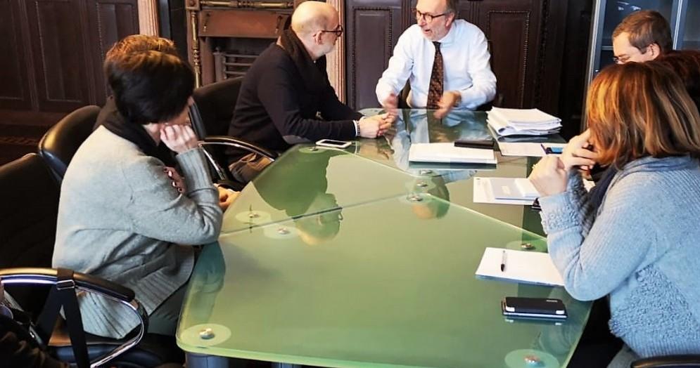 Incontro con l'assessore Grilli del Comune di Trieste : «Accordo con la Regione per il sostegno al reddito»