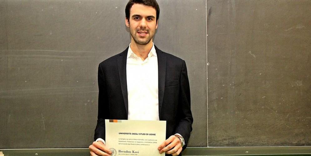 E' di Tavagnacco il miglior studente del 3° anno di Ingegneria elettronica