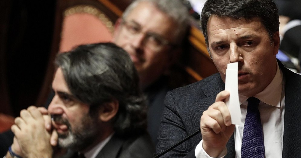 Il senatore Pd Matteo Renzi