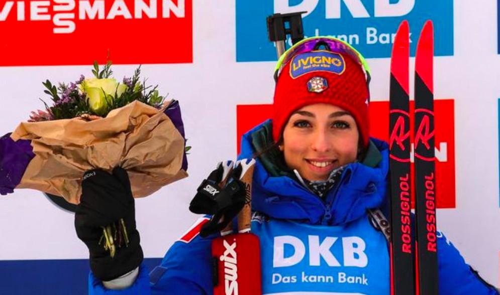 La sappadina Lisa Vittozzi vince in Coppa del Mondo a Oberhof