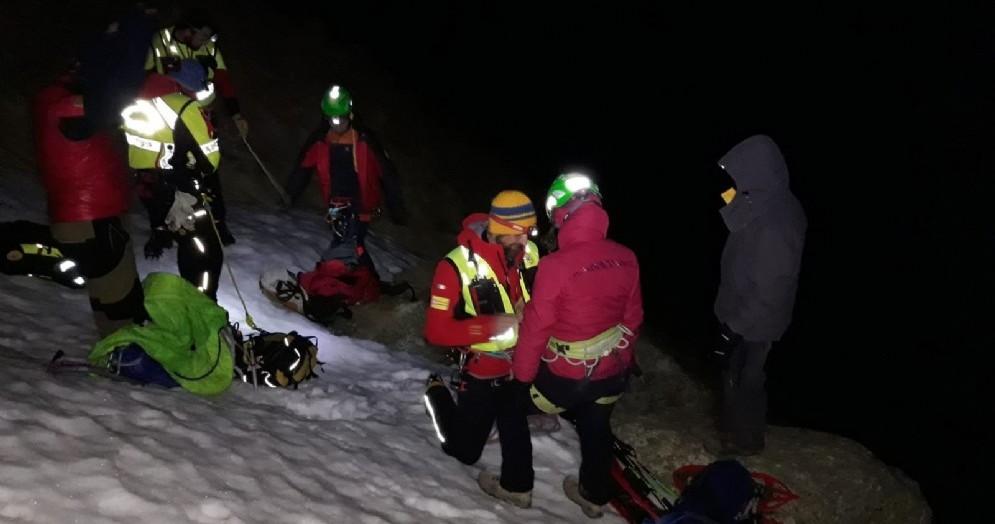 Ribordone, escursionisti dispersi sulla Punta del Vallone: recuperati nella notte