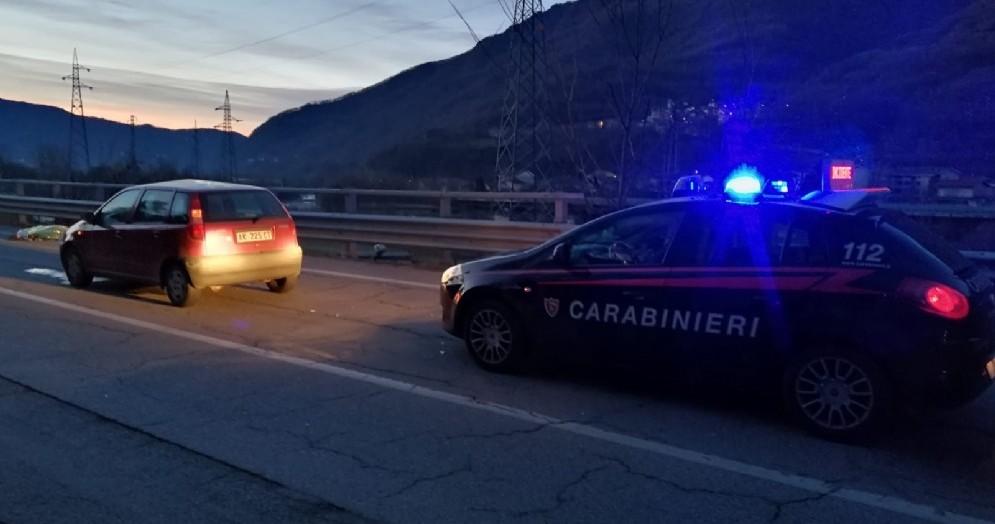 Dramma a Pinasca, pensionato travolto e ucciso da una Punto rossa