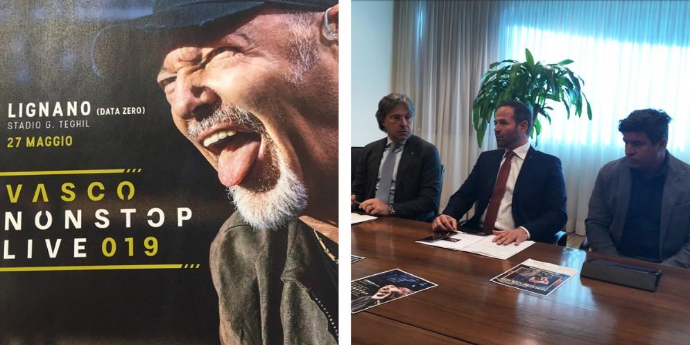 Vasco Rossi torna a Lignano per la data zero del suo tour
