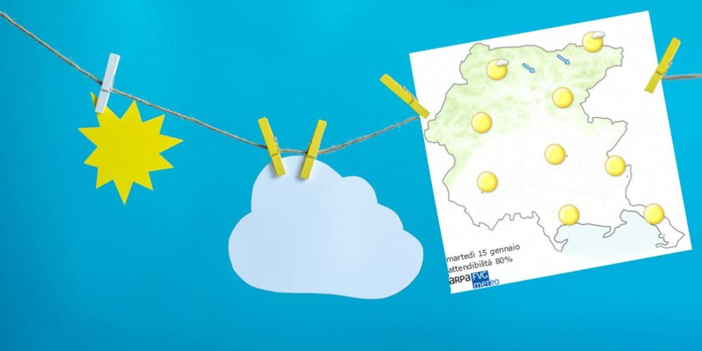 Che tempo farà martedì 15 gennaio? Ve lo dice l'Osmer Fvg