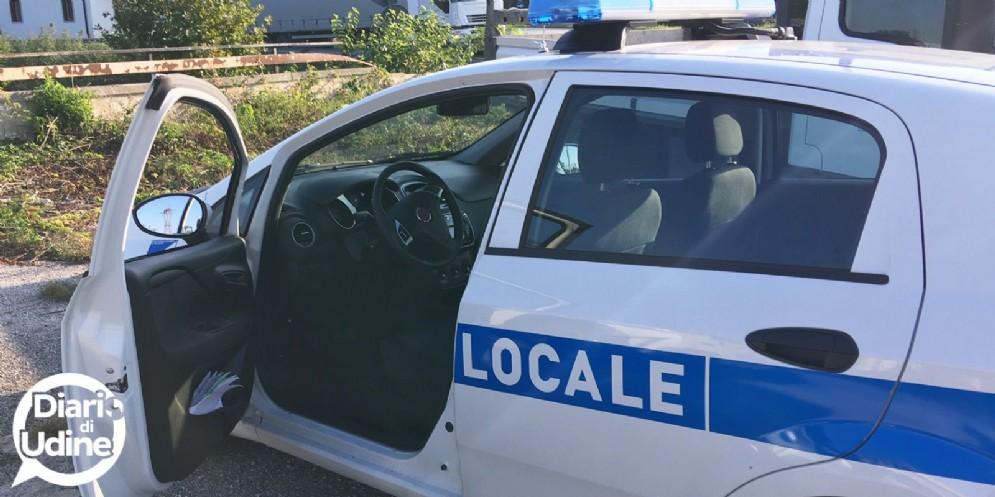 Scontro tra via Lumignacco e via Selvuzzis: due persone ferite