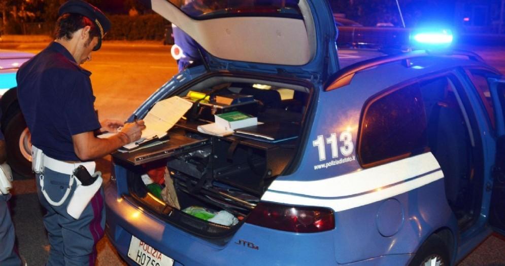 Extracomunitario alla guida di un'Audi A3 non assicurata con targa tedesca: fermato dalla polizia