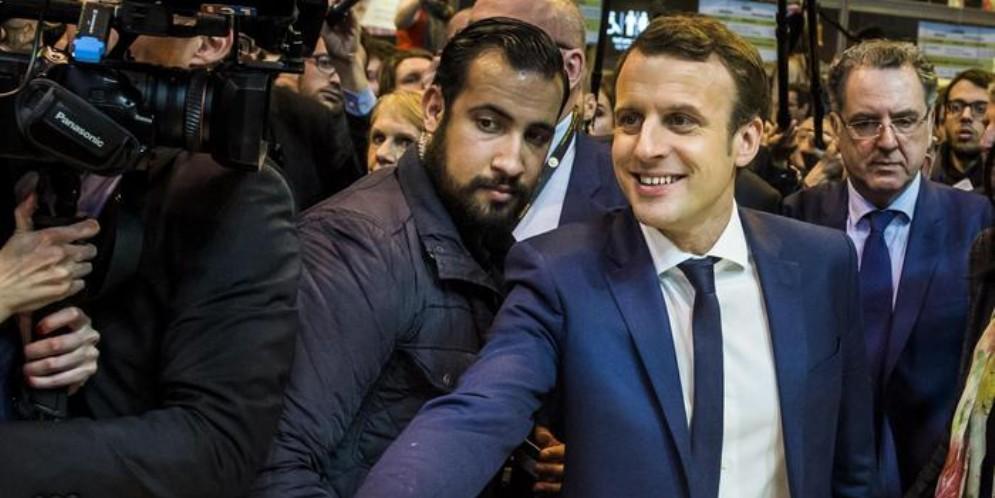 Alexandre Benalla, ex collaboratore del presidente francese Emmanuel Macron