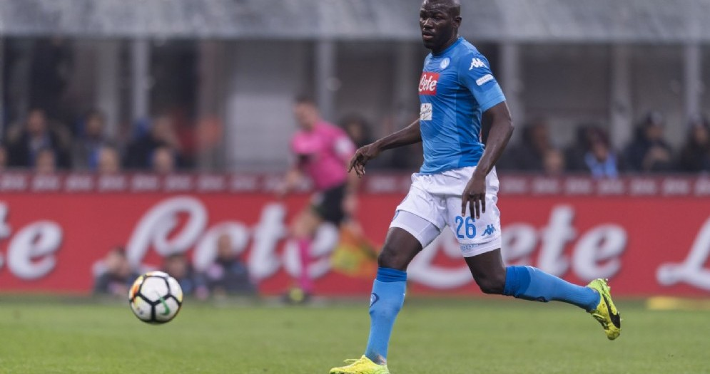 Kalidou Koulibaly, difensore del Napoli e del Senegal