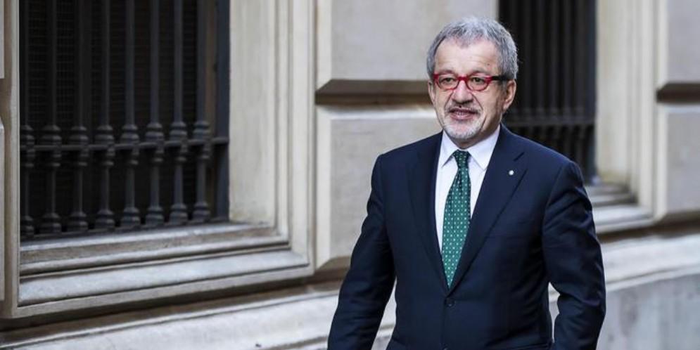 L'ex Presidente della Regione Lombardia, Roberto Maroni