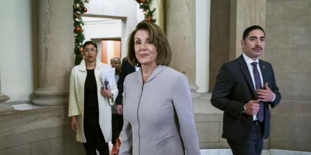La speaker della Camera statunitense, Nancy Pelosi
