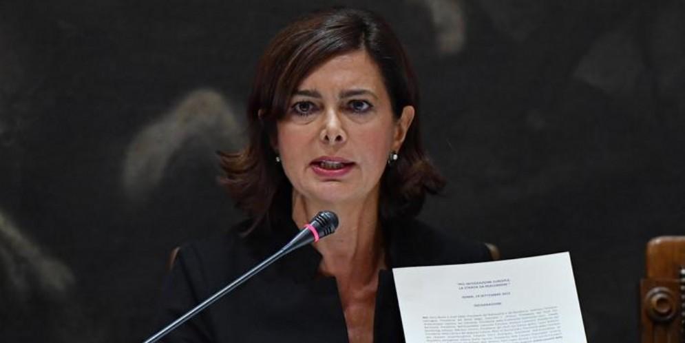 Laura Boldrini, Deputata di Liberi e Uguali