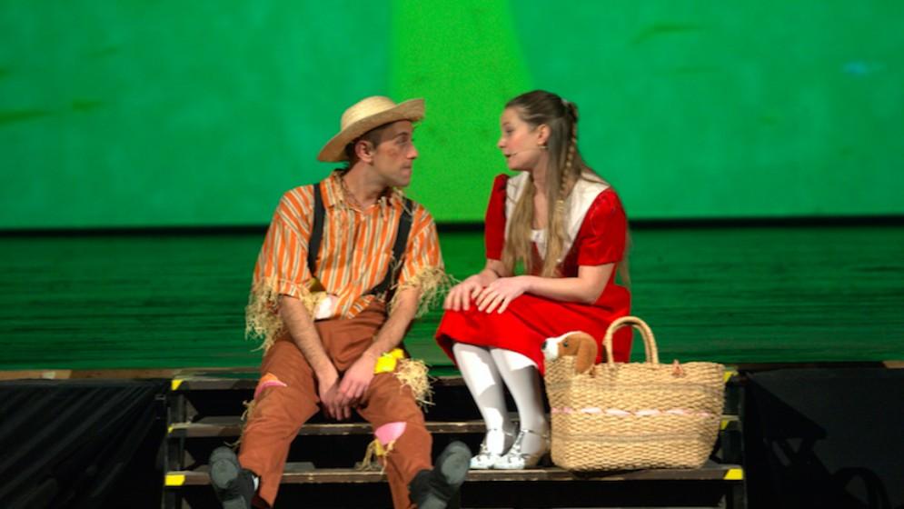 Domenica il fantateatro mette in scena 'Il mago di Oz'