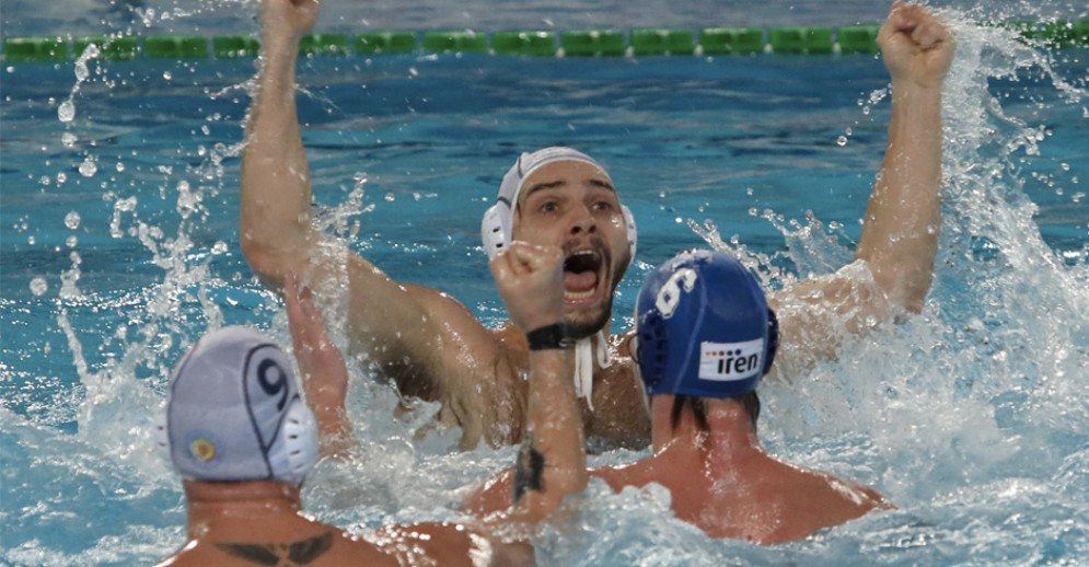 Pallanuoto Trieste da sogno: battuta Quinto 10-9 all'ultimo secondo