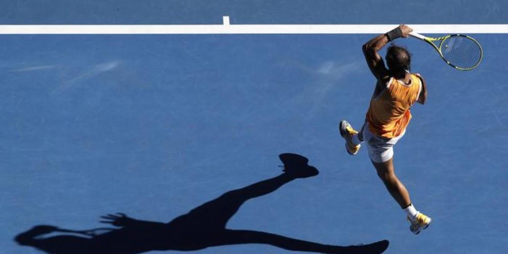 Rafa Nadal ai quarti di finale degli Australian Open