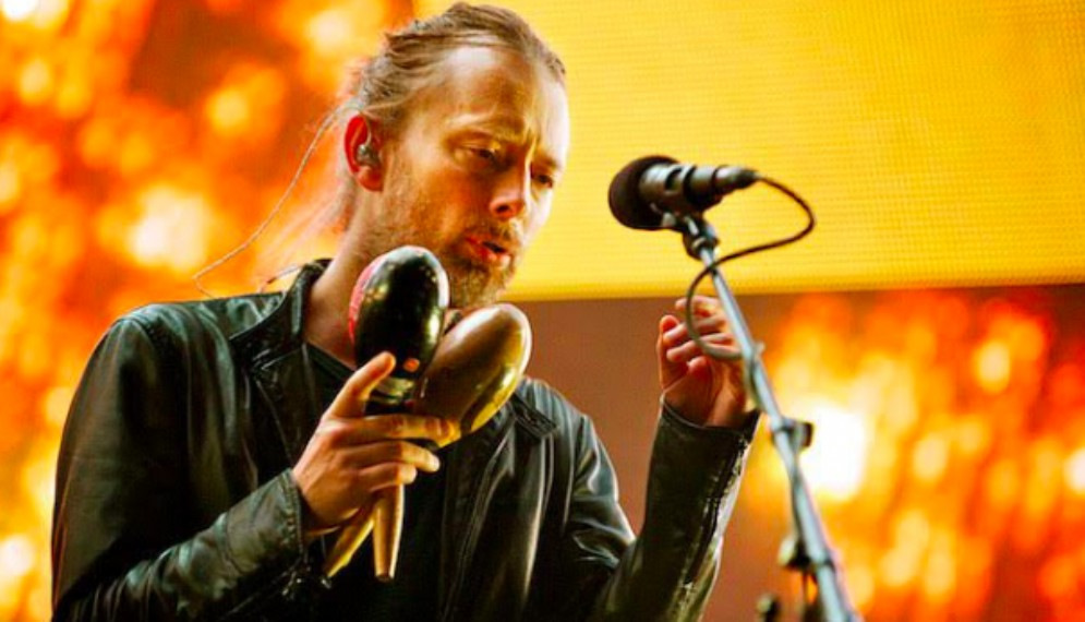 Thom Yorke, leader dei Radiohead, in concerto a Villa Manin