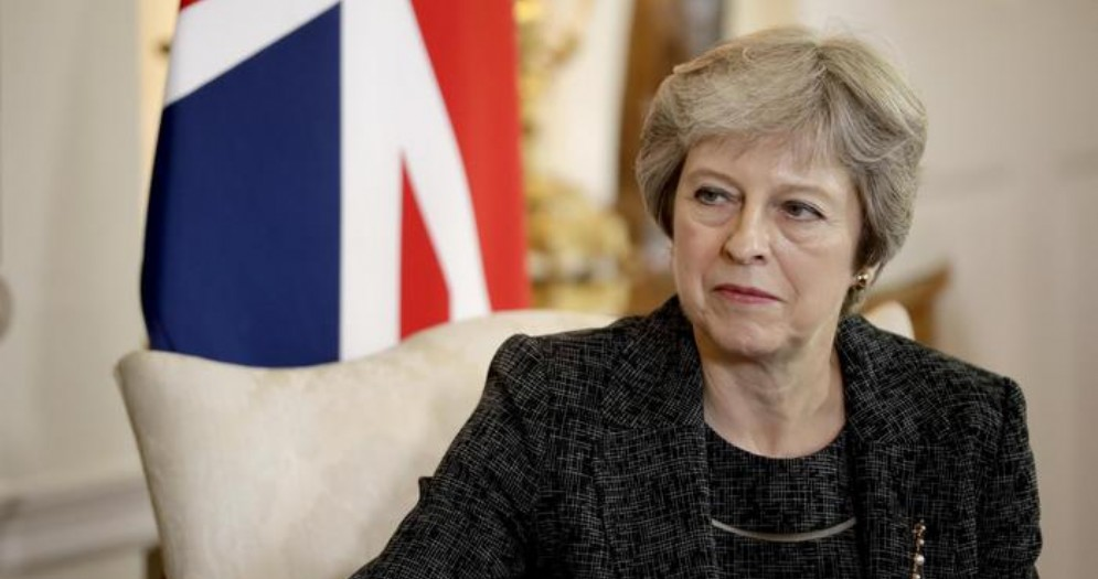 Il Primo Ministro inglese, Theresa May