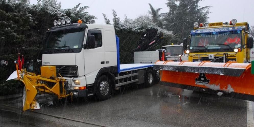 Autovie Venete si attrezza per l'arrivo della neve