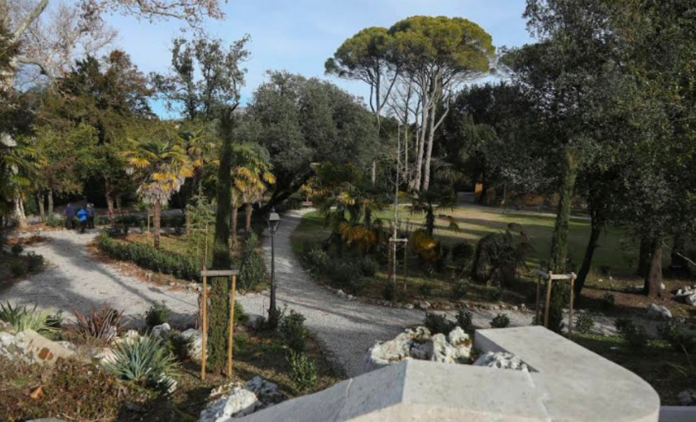Parco Coronini: al via i lavori di restauro dell'area verde