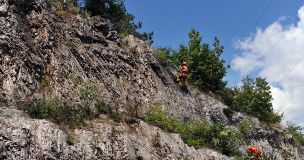 Messa in sicurezza delle pareti rocciose: Autovie investe 2 milioni di euro al Lisert