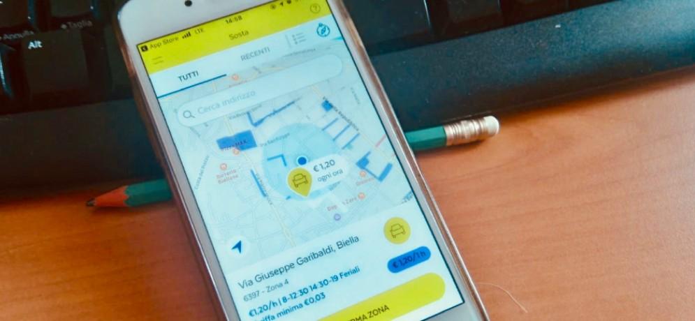 Biella, la sosta si paga con Postepay e uno smartphone: ecco come funziona
