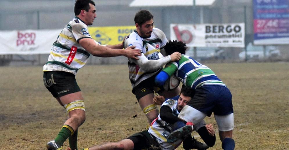 Biella Rugby da sogno: Cus Milano battuta 22-20, l'Edilnol vince la sfida salvezza