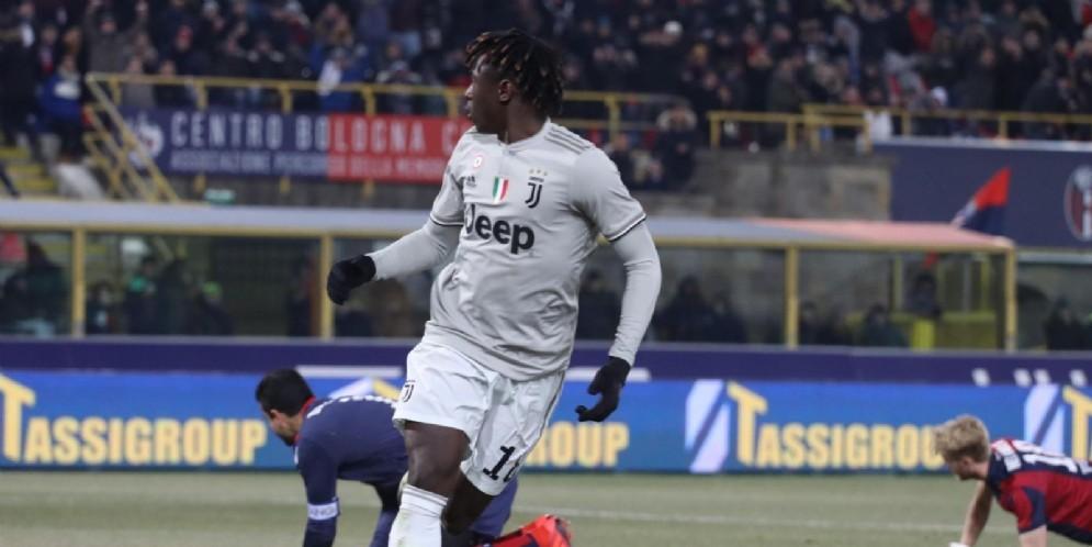 Moise Kean, attaccante della Juventus classe 2000