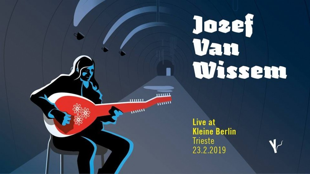Jozef van Wissem live al Kleine Berlin di Trieste