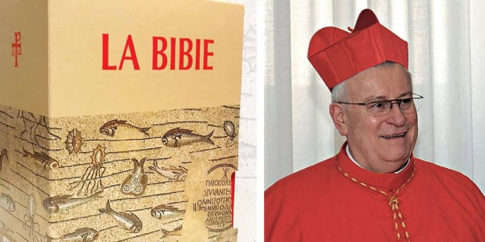 Il cardinal Bassetti alla presentazione della nuova edizione de 'La Bibie'