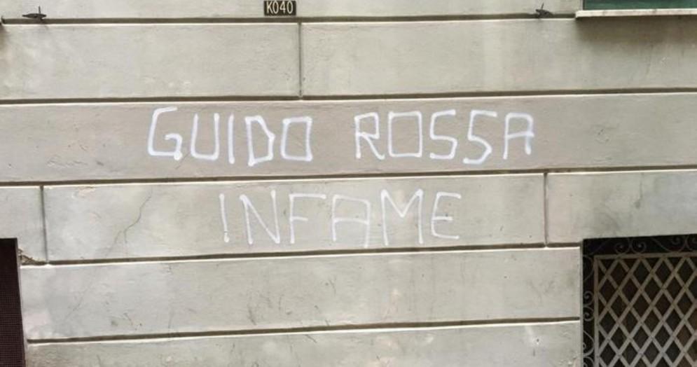 Scritte contro Guido Rossa, identificati gli autori