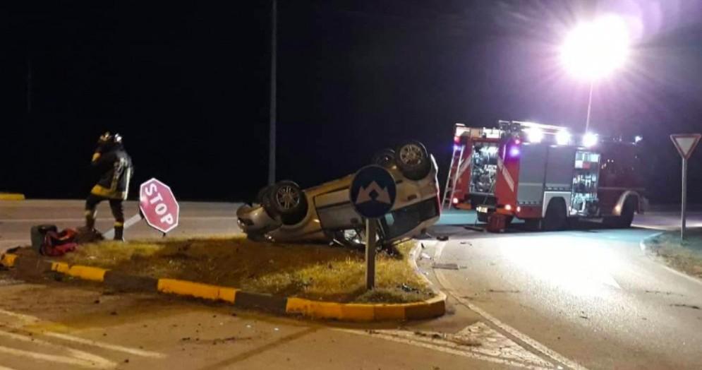 Incidente a Codroipo: feriti un ragazzo, una mamma e una bambina