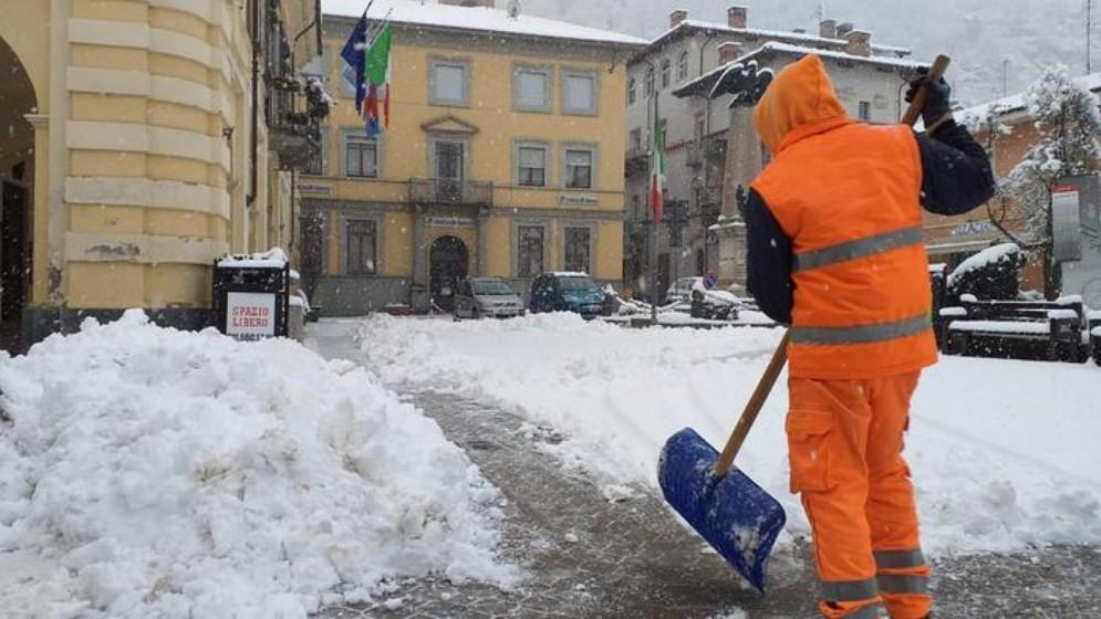 Nevica dalla serata di ieri su tutto il Piemonte