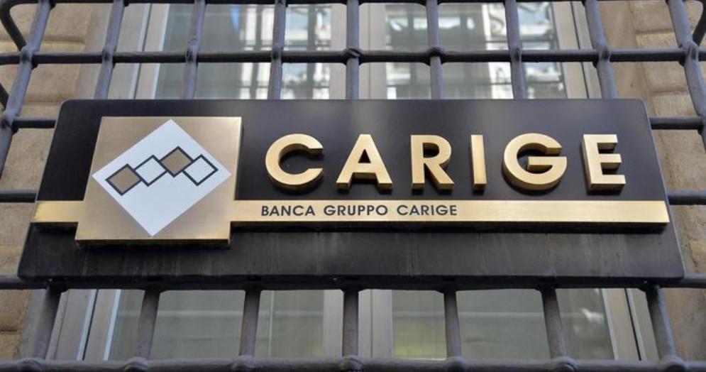 Il logo di Banca Carige