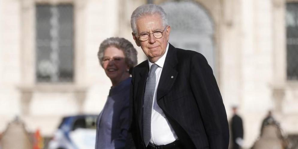 L'ex Presidente del Consiglio, Mario Monti