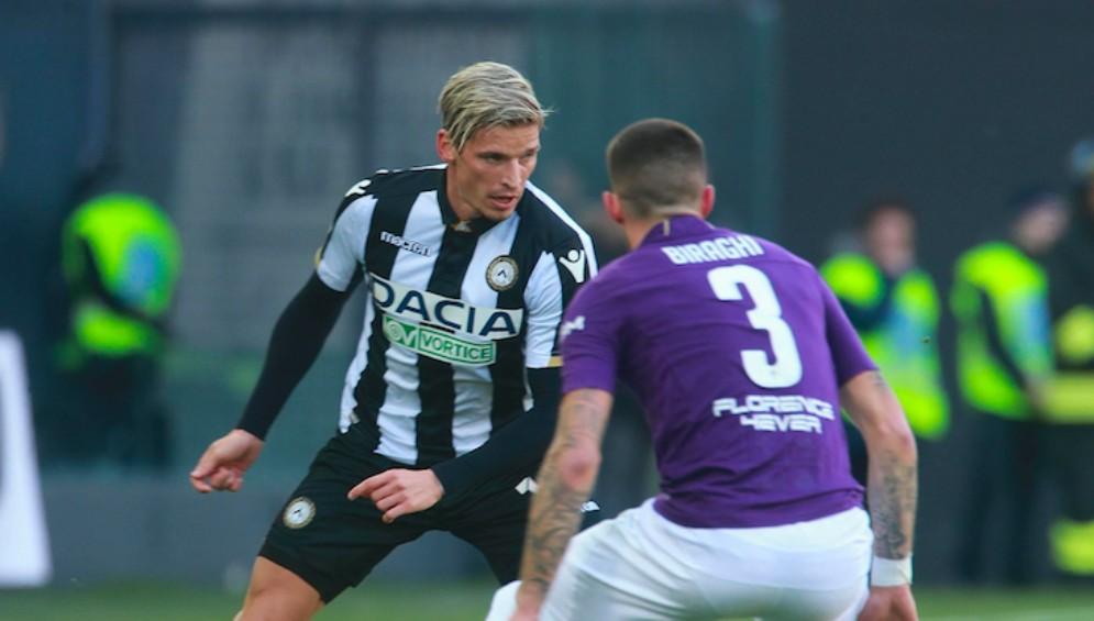 Udinese non sa più vincere: al Friuli finisce 1 a 1 con la Fiorentina