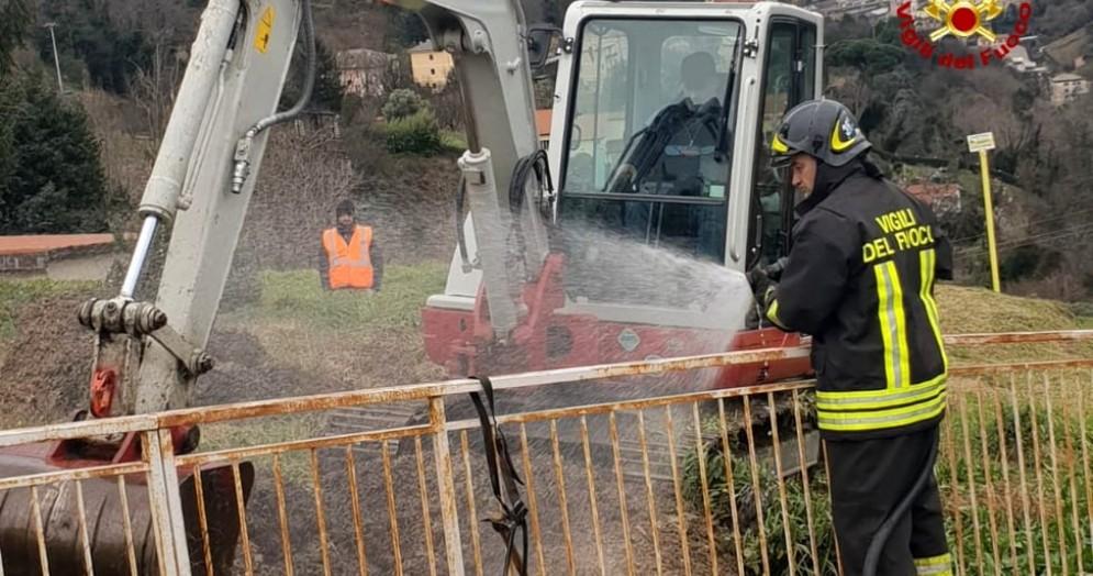 Fuga di gas, evacuate per sicurezza 5 case a Genova Murta