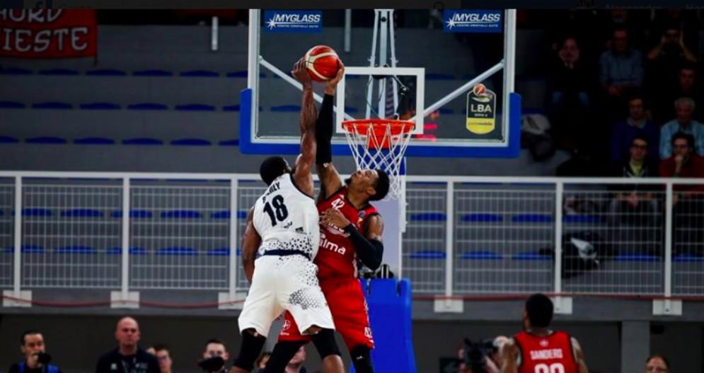 L'Alma Trieste vince ancora: al Palaleonessa Germani battuta 85 a 77