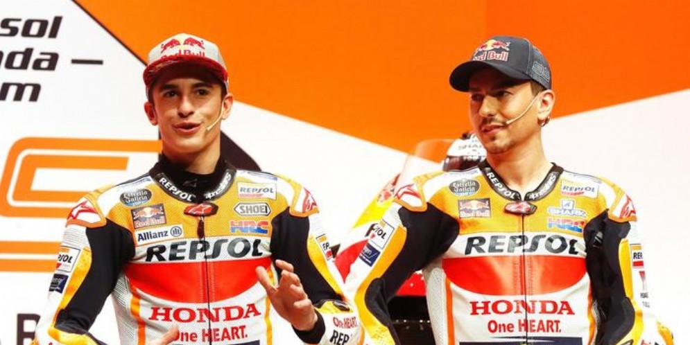 Marc Marquez e Jorge Lorenzo