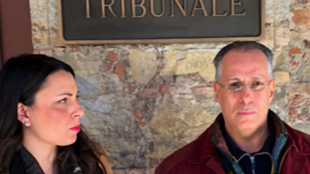 Vittorio Costanzo con il suo avvocato