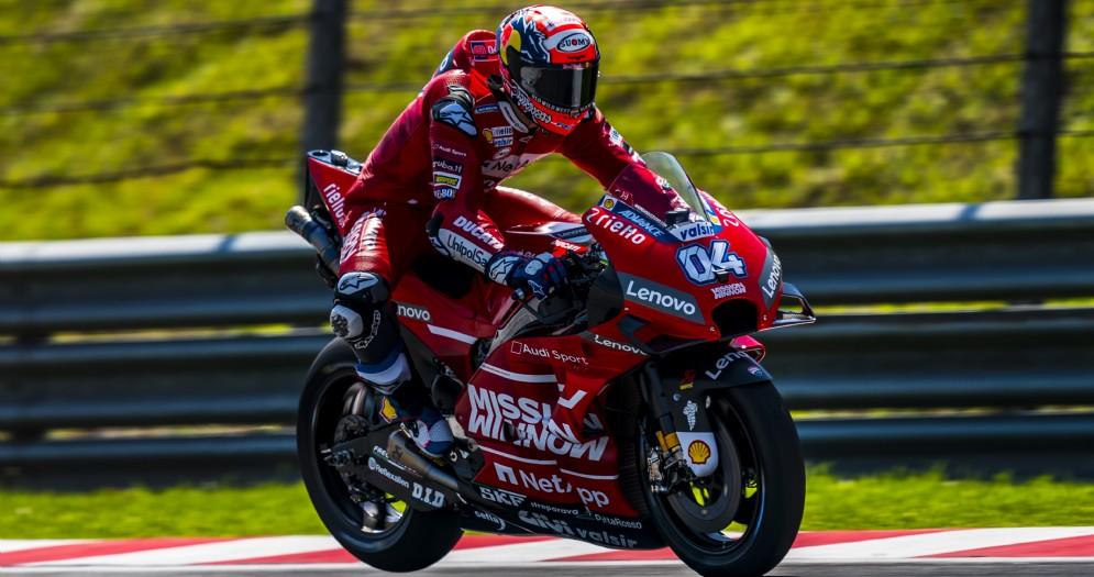 Andrea Dovizioso su Ducati