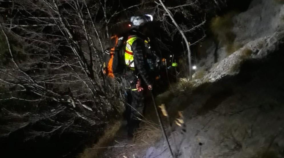 Non rientrano per la notte: trovati illesi due escursionisti triestini