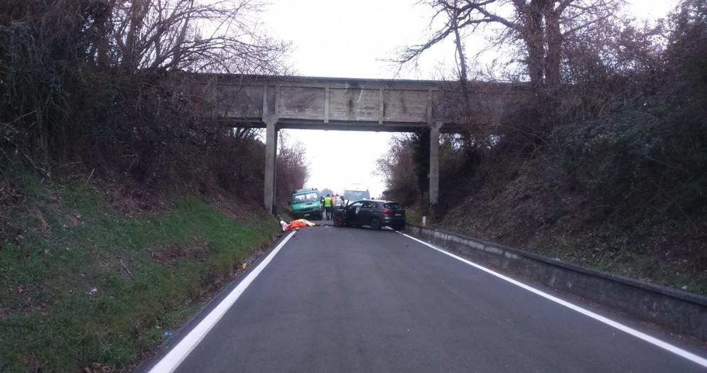Travolti sul ponte della Dora, due cantonieri morti tra Villareggia e Mazzè